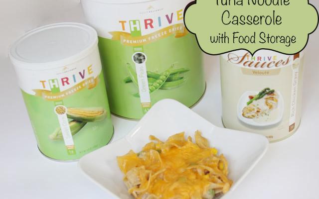 Food storage recipe